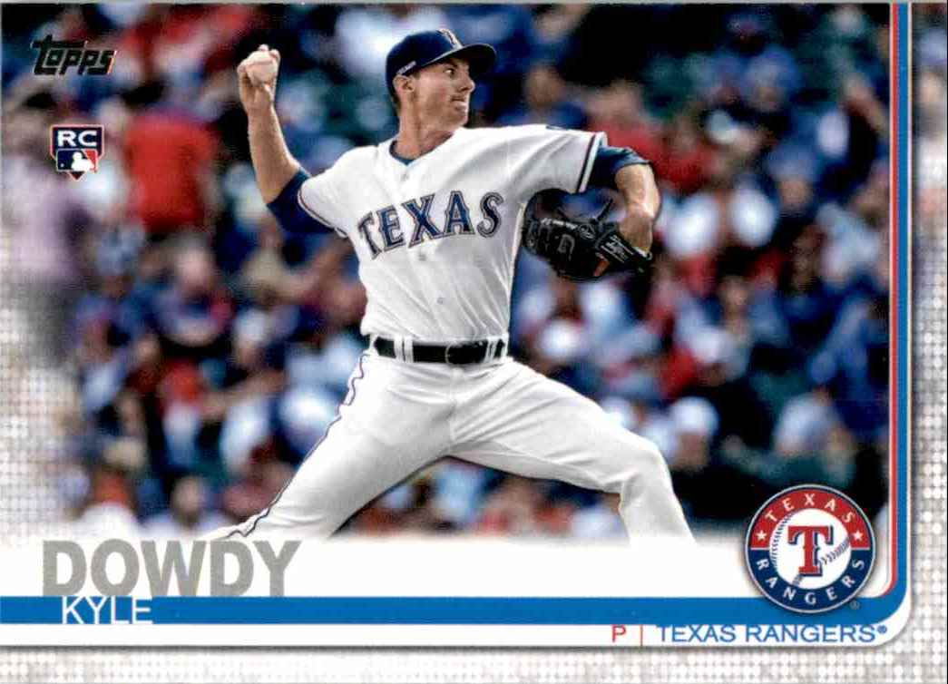 2019 Topps Update Kyle Dowdy RC #US229 card front image