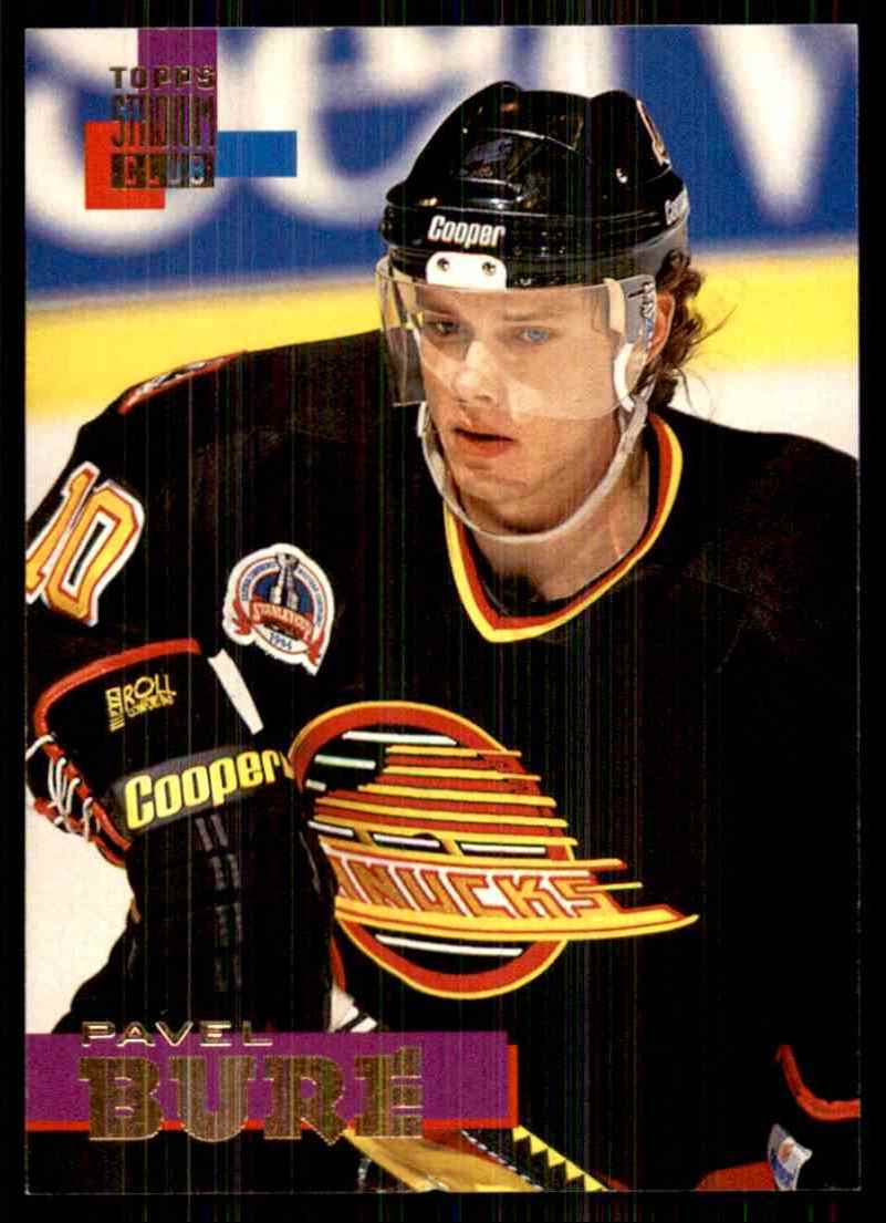1994-95 Stadium Club Pavel Bure #10 card front image
