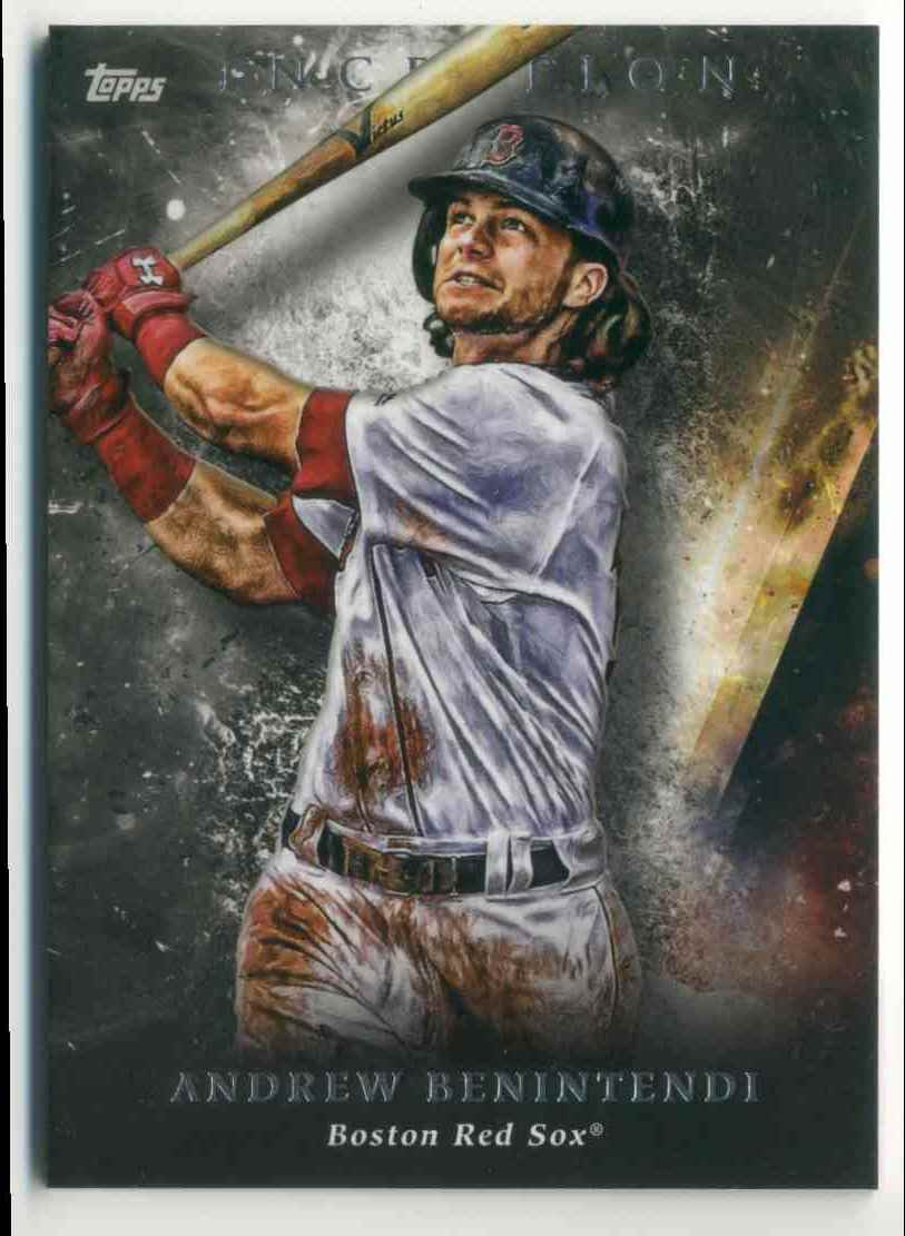 2018 Topps Inception Andrew Benintendi #55 card front image