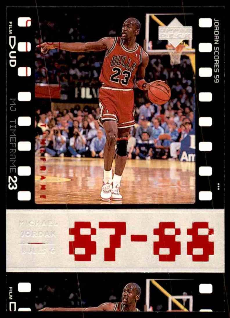 9f926e17b06319 1998-99 Upper Deck Michael Jordan Living Legend Michael Jordan  21 card  front image