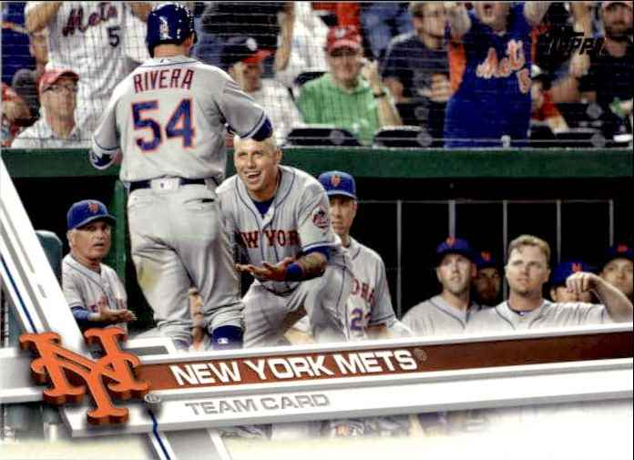 2017 Topps Series 2 New York Mets TC #426 card front image