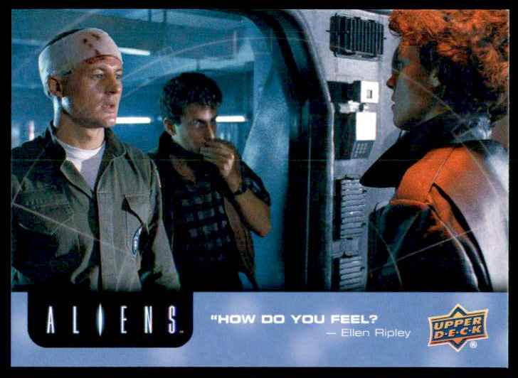 2018 Aliens How Do You Feel? #73 card front image