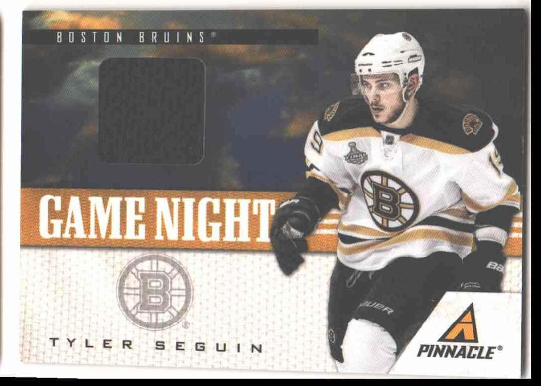 2011-12 Pinnacle Game Night Tyler Seguin #6 card front image