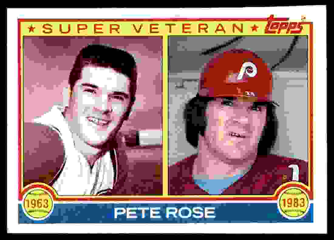 1983 Topps Pete Rose #101 card front image