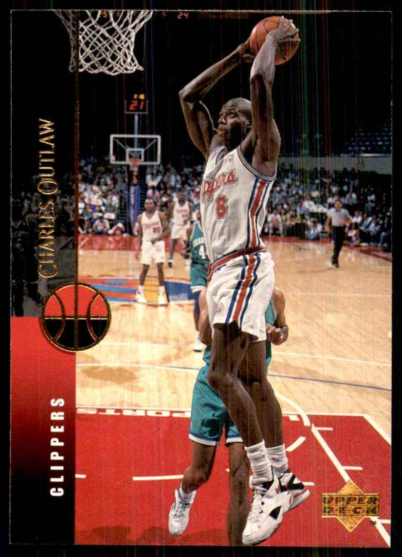 1994-95 Upper Deck Bo Outlaw RC #56 card front image