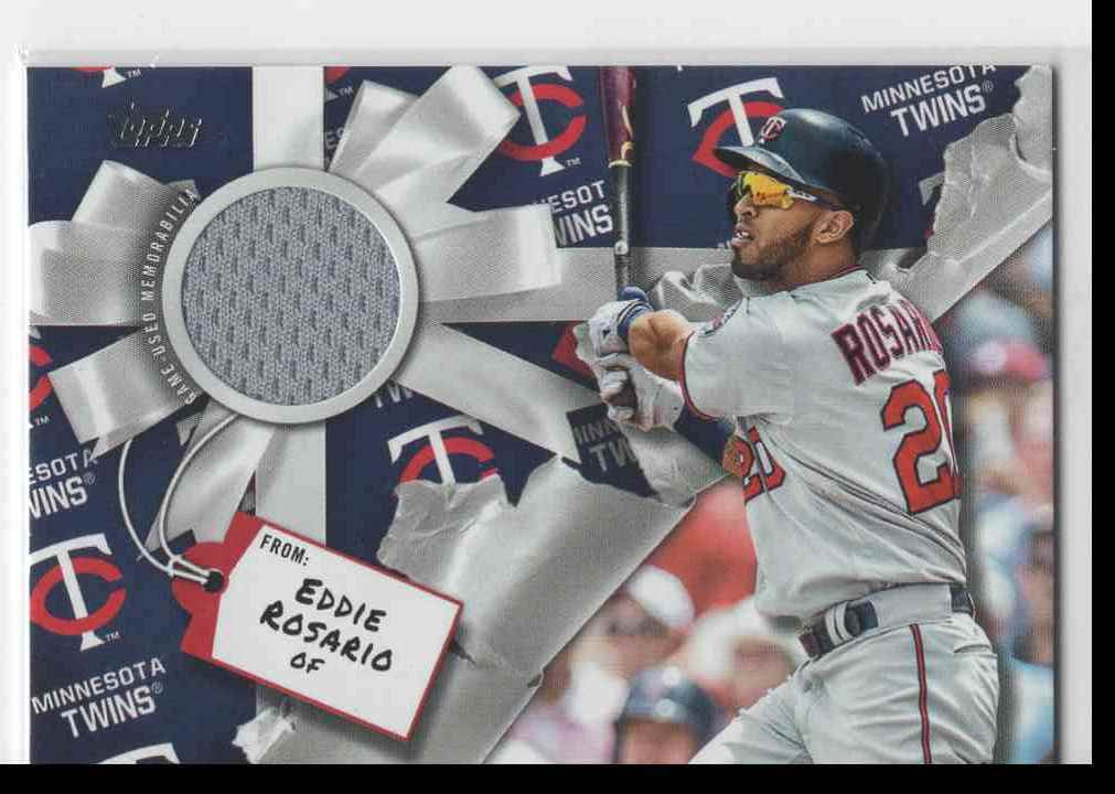 2019 Topps Holiday Mega Eddie Rosario #WHR-ER card front image