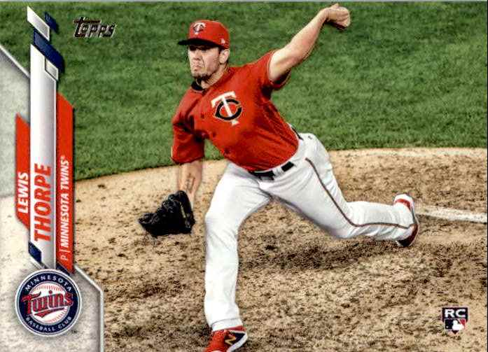 2020 Topps Series 1 Lewis Thorpe #97 card front image