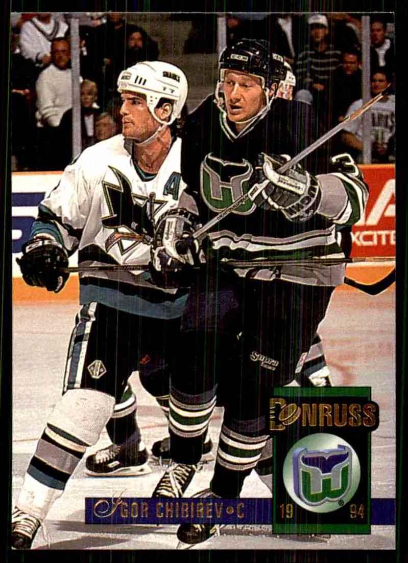 1993-94 Donruss Igor Chibirev RC #436 card front image
