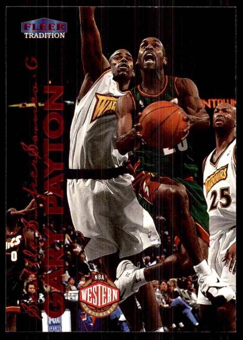 1999-00 Fleer Gary Payton #153 card front image
