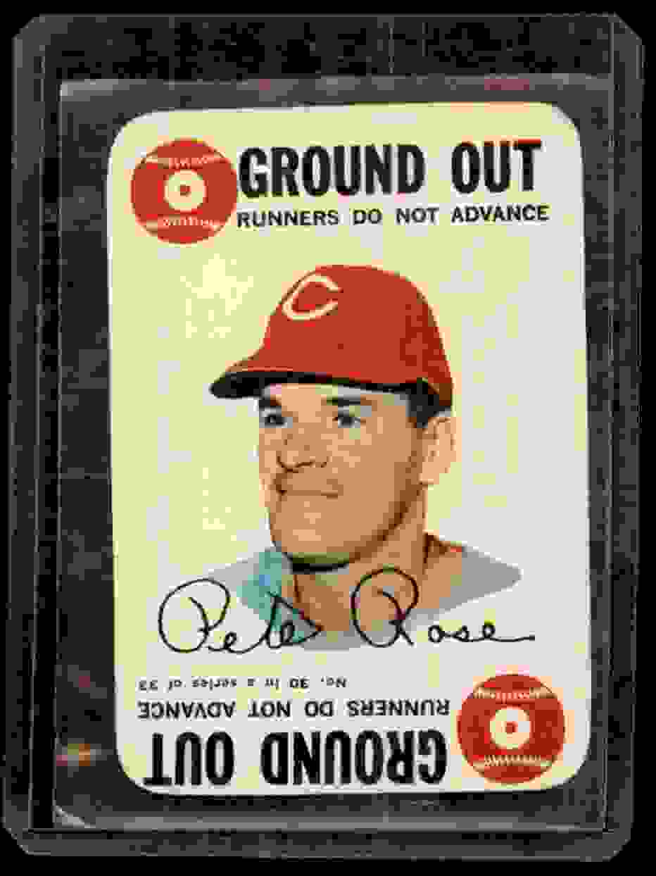 1968 Topps Game Pete Rose #30 card front image