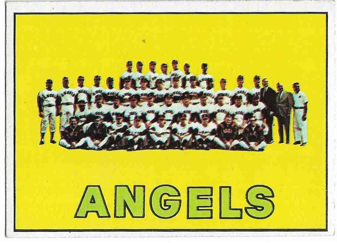 1967 Topps California Angels #327 card front image