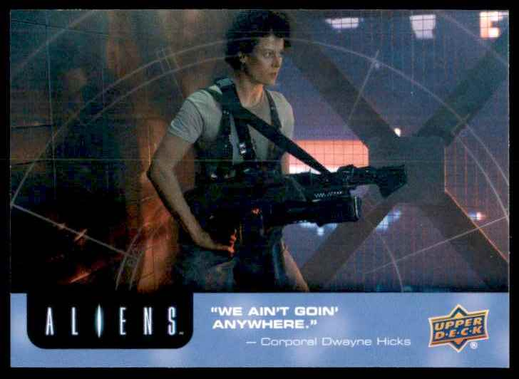 2018 Aliens Evacuate Immediately #89 card front image