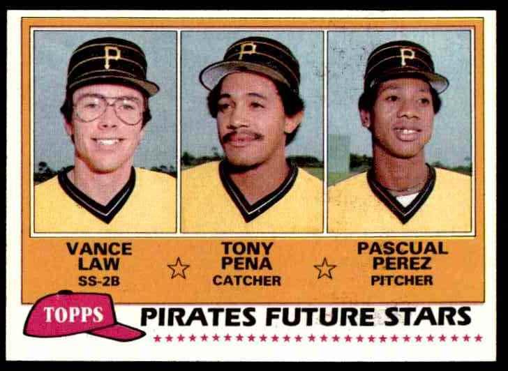 Vance Law, Tony Pena and Pascual Perez
