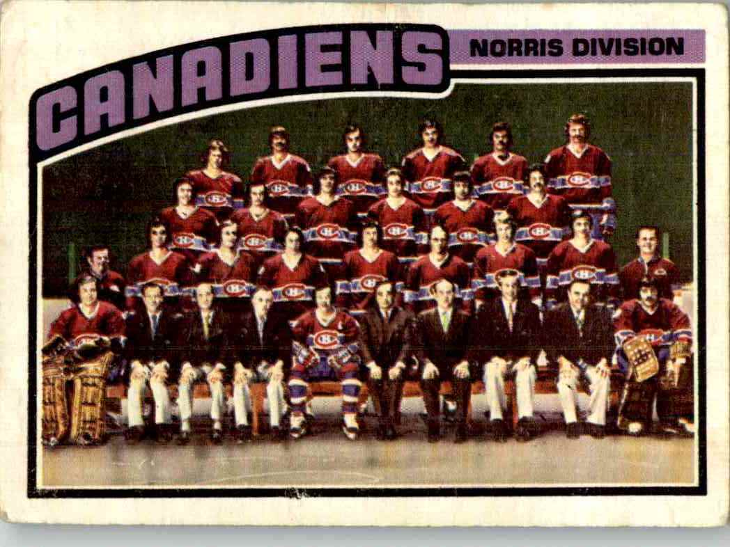 1976-77 O-Pee-Chee Montreal Canadiens #141
