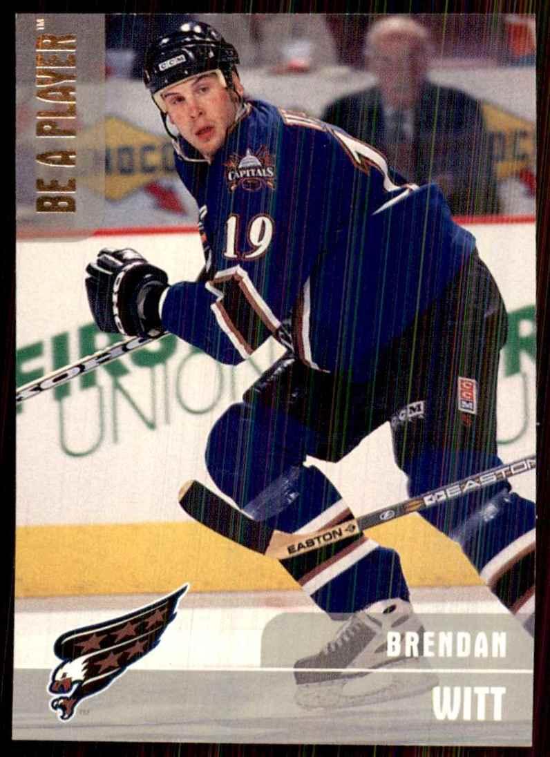 1999-00 Bap Memorabilia Silver Brendan Witt #210 card front image