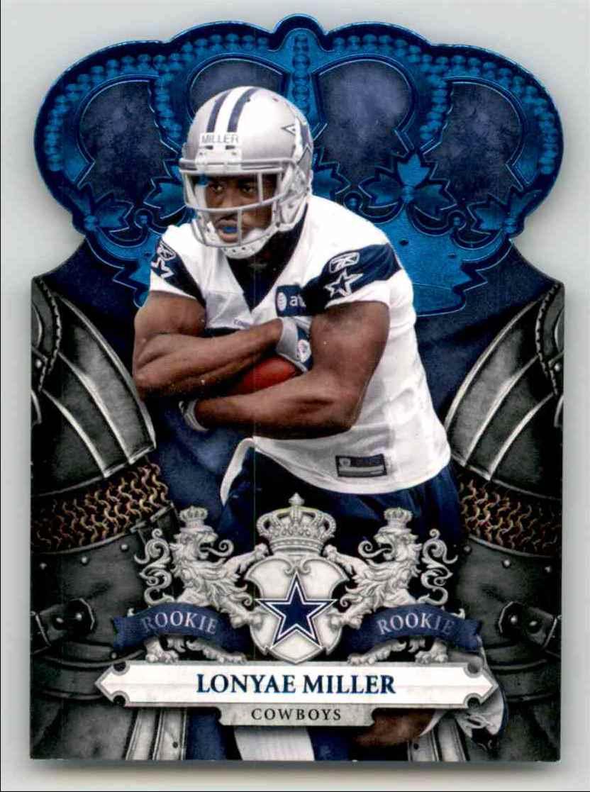 2010 Crown Royale Blue Lonyae Miller #166 card front image