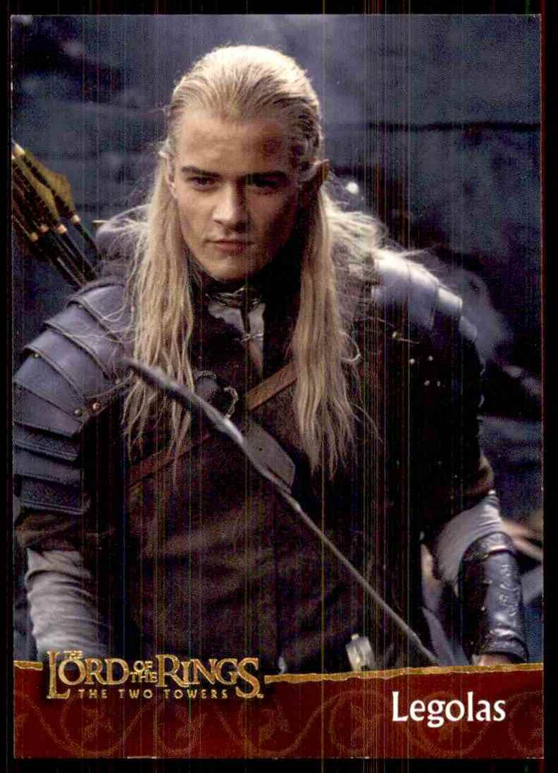 2002 Lord Of The Rings Two Towers Legolas #5   eBay