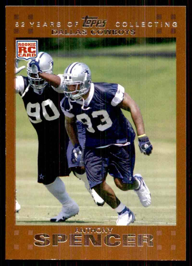 2007 Topps Copper Anthony Spencer #356 card front image
