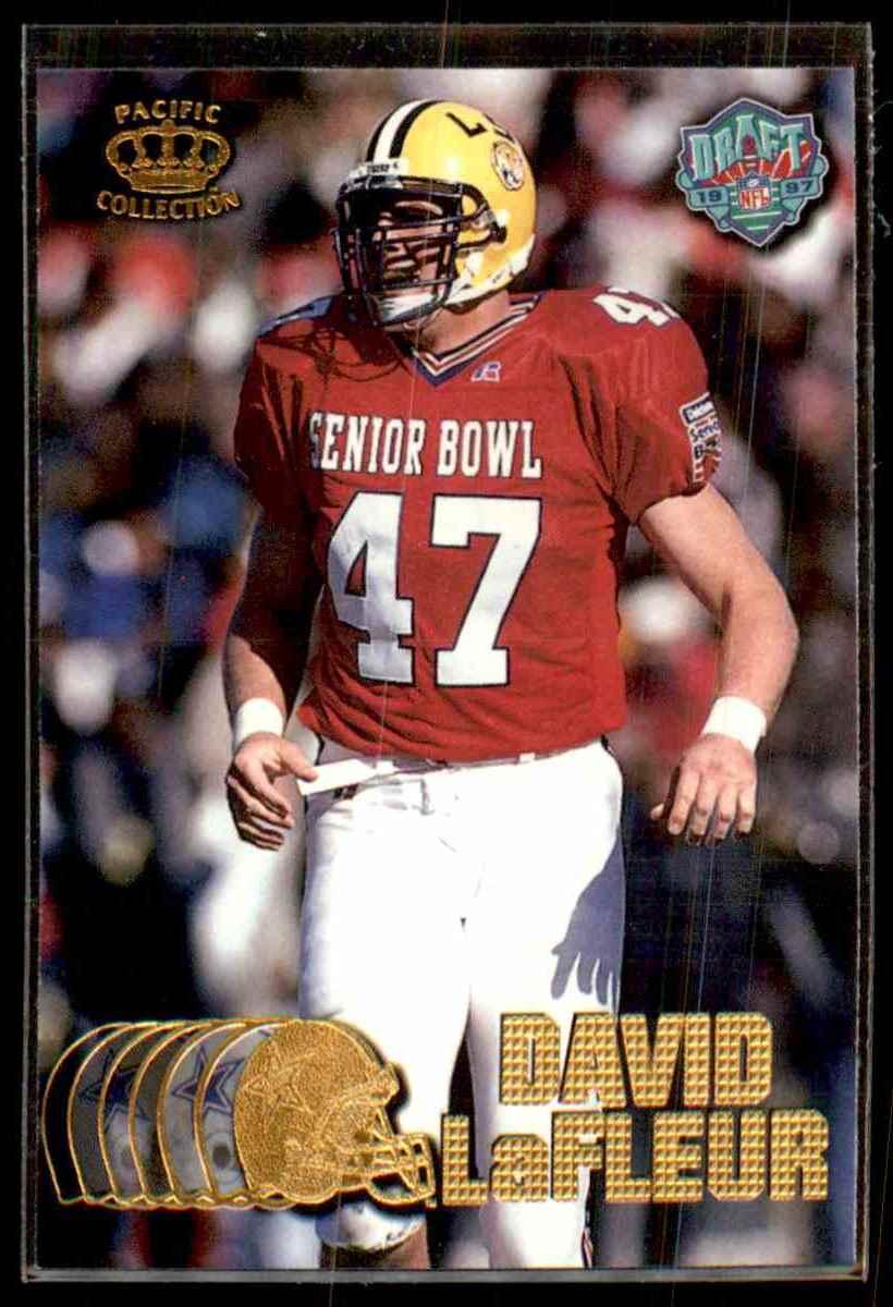 1997 Pacific David Lafleur #437 card front image