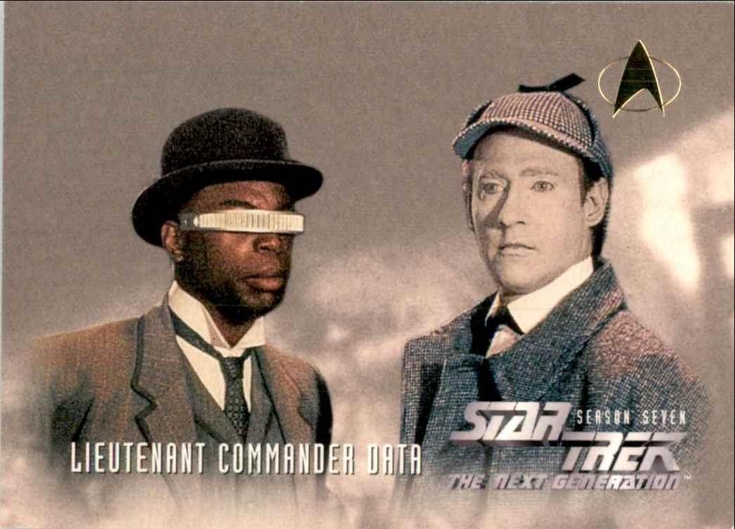 1994 Star Trek The Next Generation Episode Collection Lieutenant Commander Geordi LaForge #732 card front image