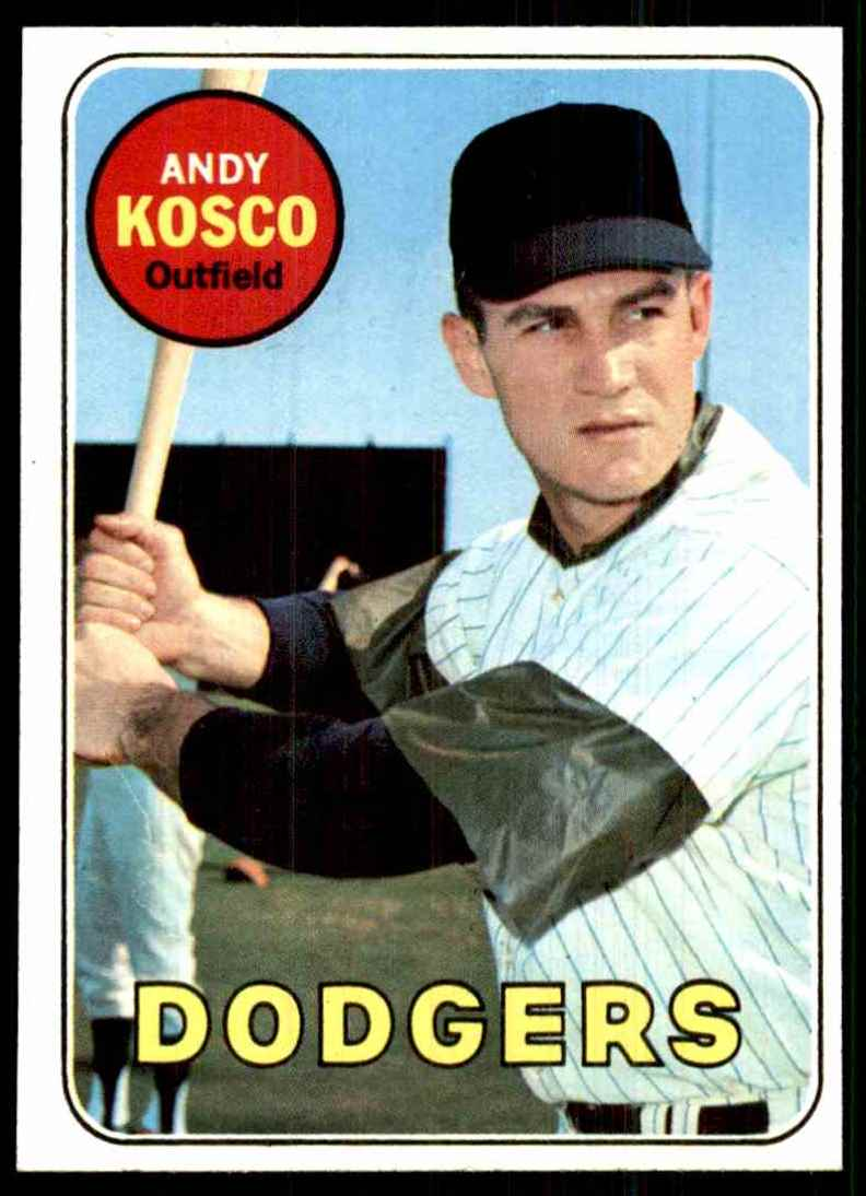 1969 Topps Andy Kosco #139 card front image