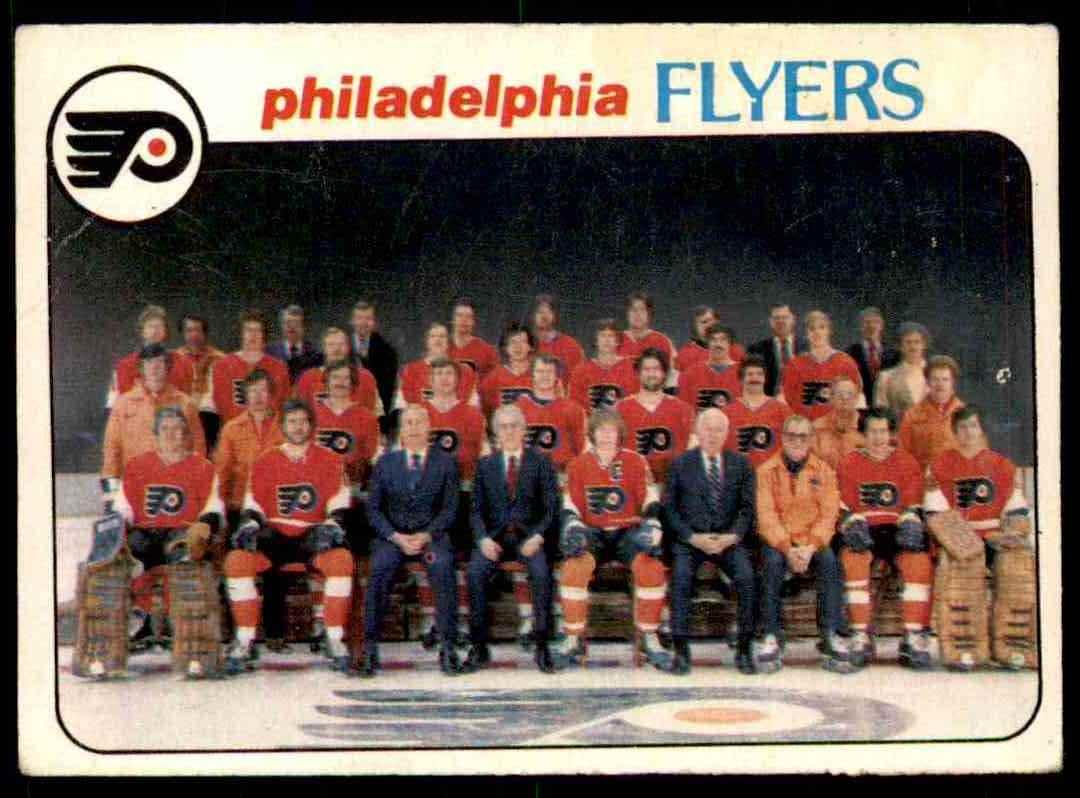 1978-79 O-Pee-Chee Philadelphia Flyers Checklist #203 card front image