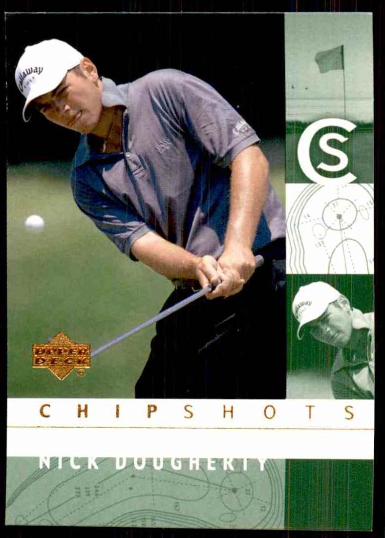 2002 Upper Deck Nick Dougherty Cs RC #98 card front image