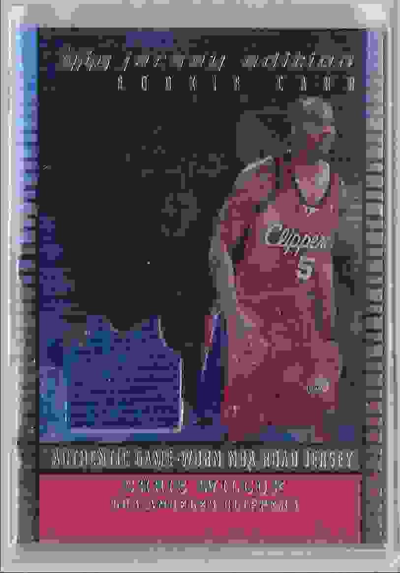 2002-03 Topps Jersey Edition Copper Chris Wilcox #JECW card front image