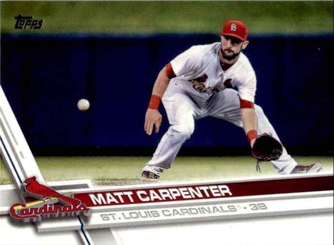 2017 Topps Series 2 Matt Carpenter #359 card front image