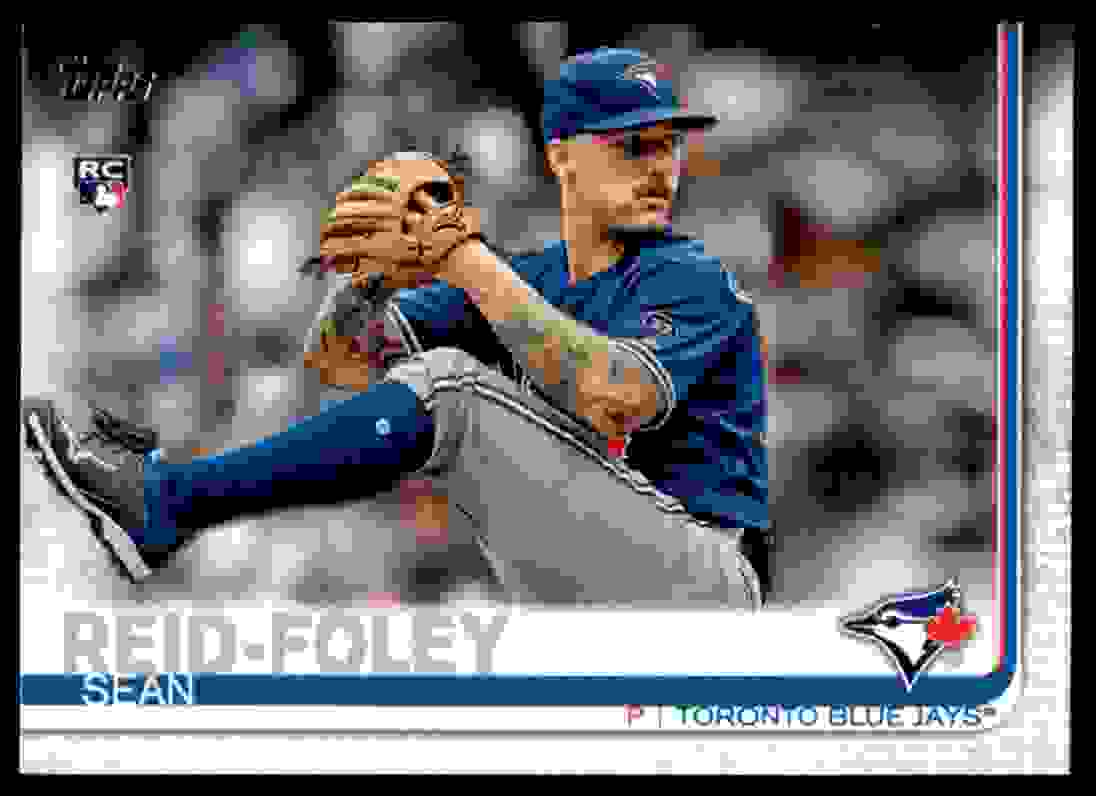 2019 Topps Sean Reid-Foley #134 card front image