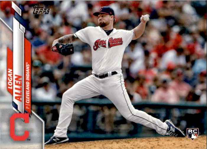 2020 Topps Series 1 Logan Allen #228 card front image