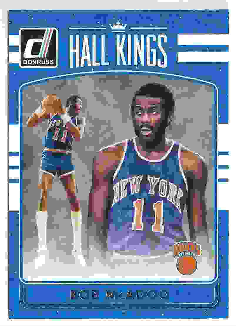 2016 17 Donruss Basketball Hall Kings Bob McAdoo 28 on Kronozio