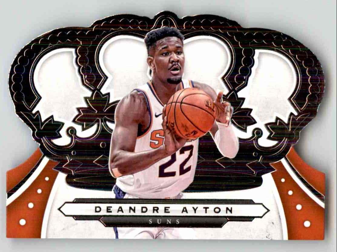 2019-20 Crown Royale Deandre Ayton #82 card front image