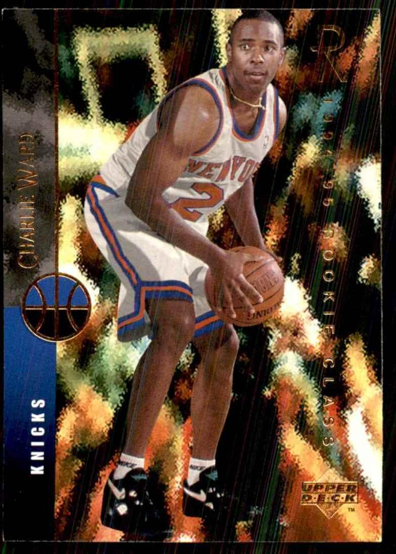 1994-95 Upper Deck Charlie Ward RC #158 card front image