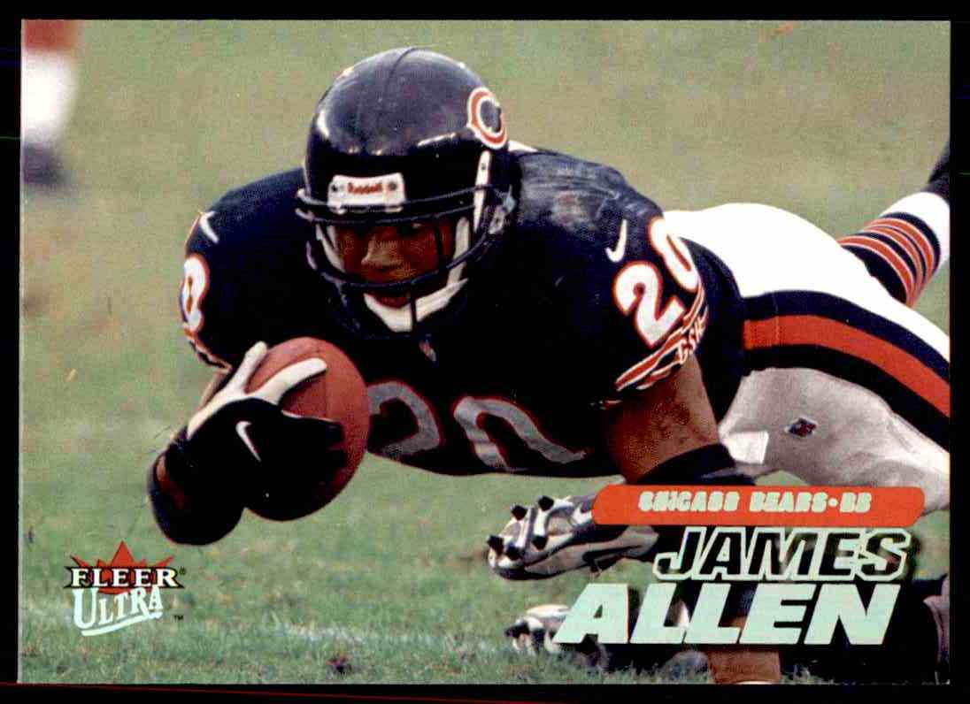 2001 Ultra James Allen #184 on Kronozio