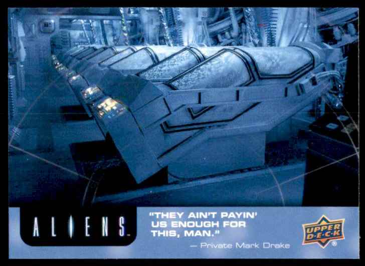 2018 Aliens Hyper Sleep Chamber #16 card front image