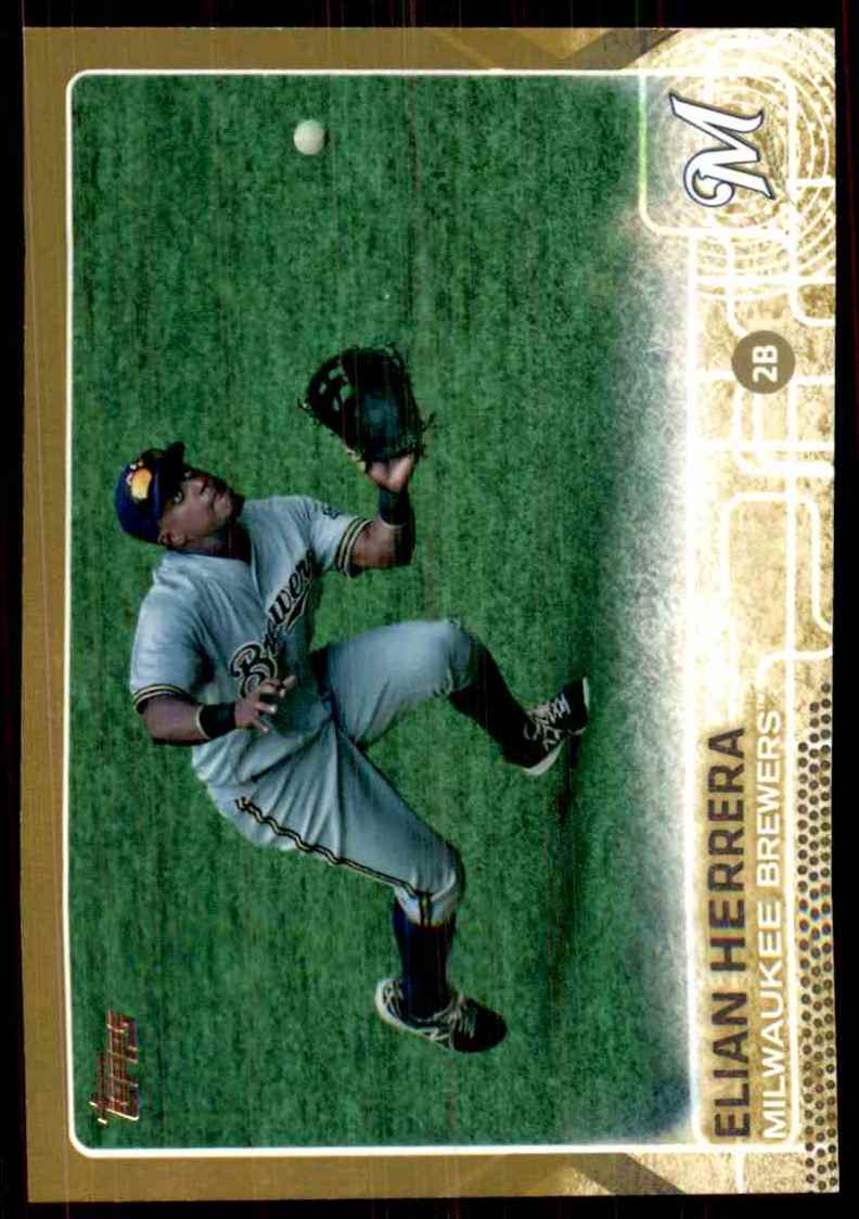 2015 Topps Gold Elian Herrera #453 card front image