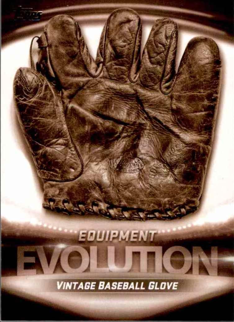 4 Topps Equipment Evolution trading cards for sale