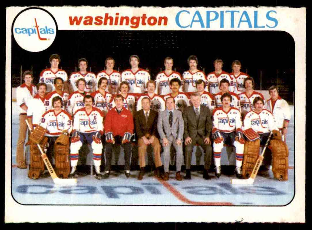 1978-79 O-Pee-Chee Washington Capitals #208 card front image