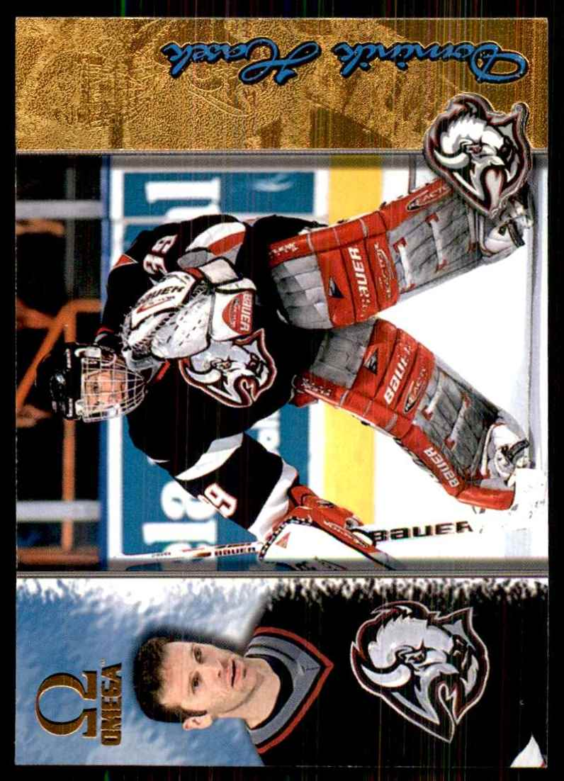 1997-98 Pacific Omega Gold Dominik Hasek #22 card front image