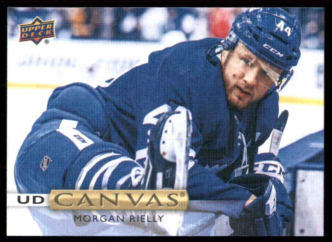 2019-20 Upper Deck Canvas Morgan Rielly #C2 card front image