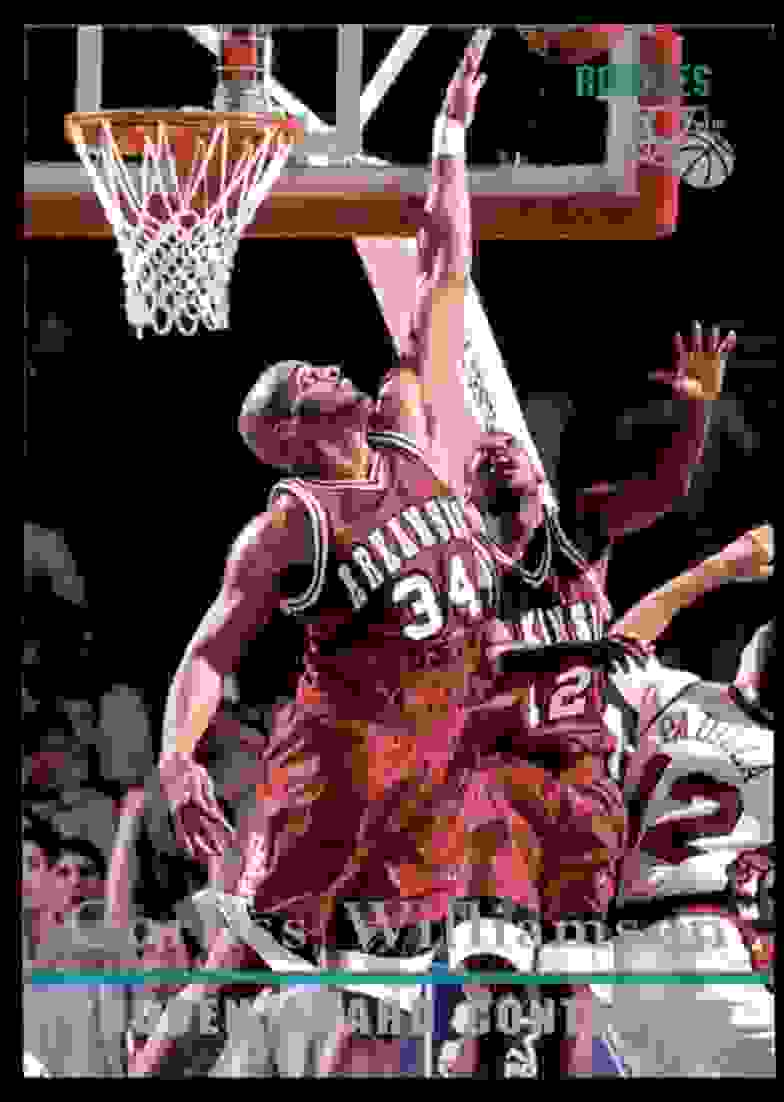 1995-96 Classic Corliss Williamson Aw #98 card front image