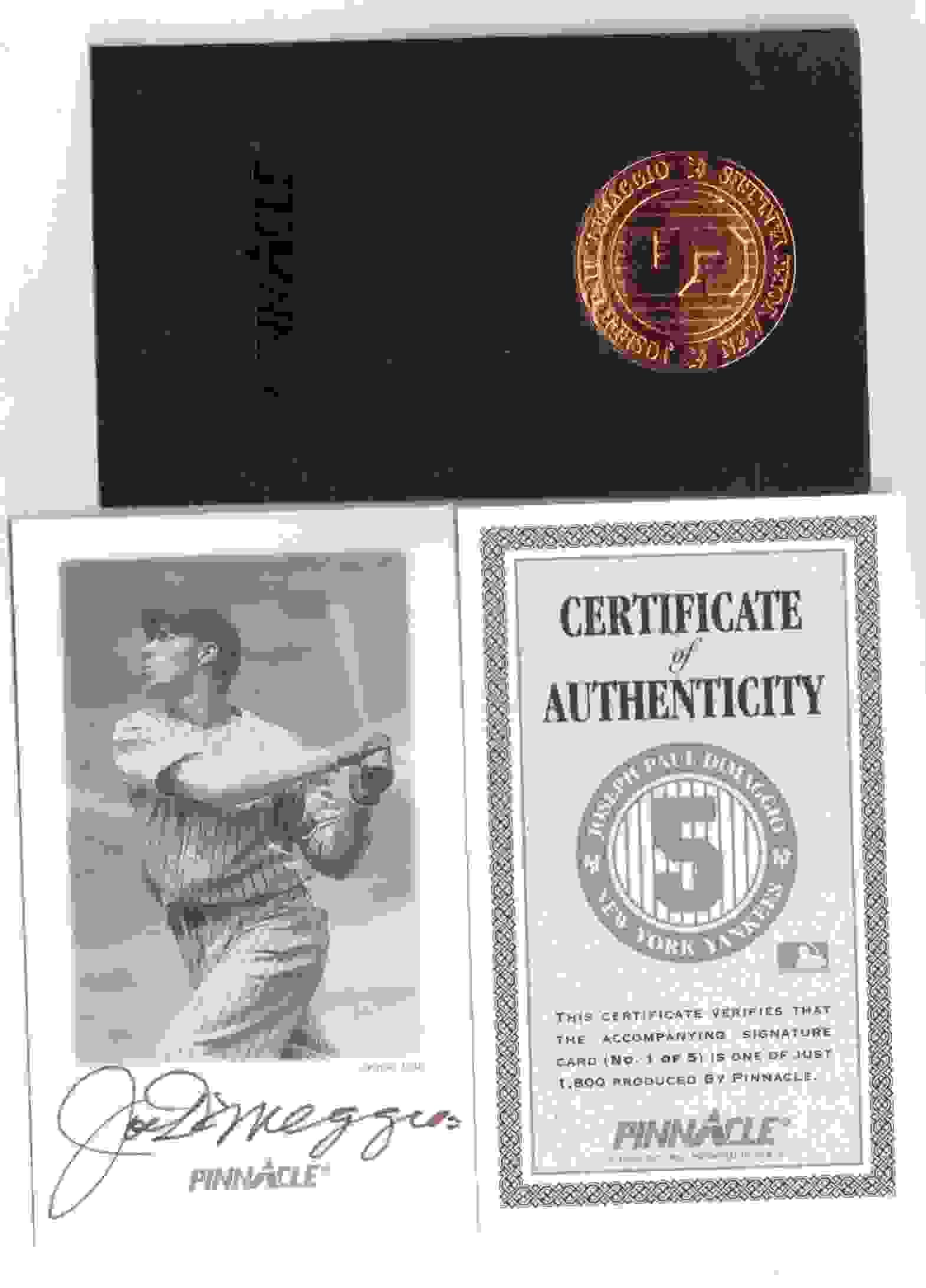 1993 Score Joe DiMaggio #5 card front image