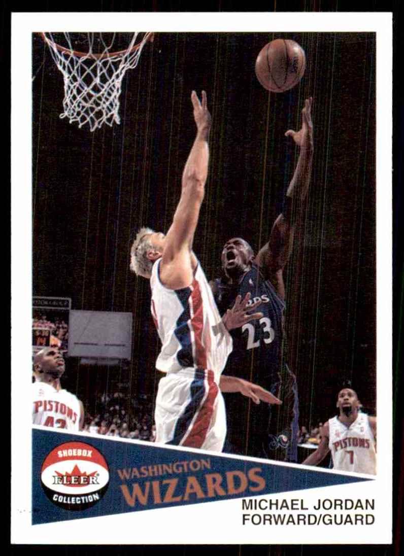 2001-02 Fleer Shoebox Michael Jordan #137 card front image