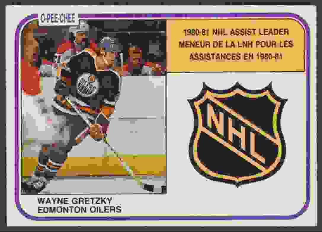 1981-82 O-Pee-Chee Wayne Gretzky- EX Mint #383 card front image