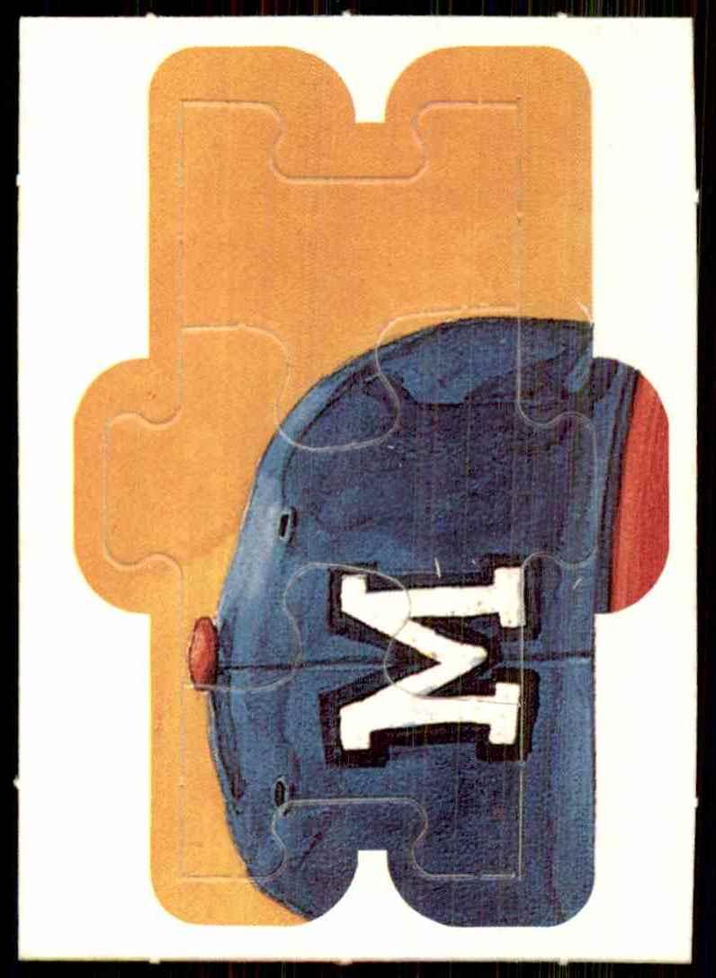 1989 Donruss Warren Spahn Puzzle Spahn Puzzle 13-15 #13 card front image