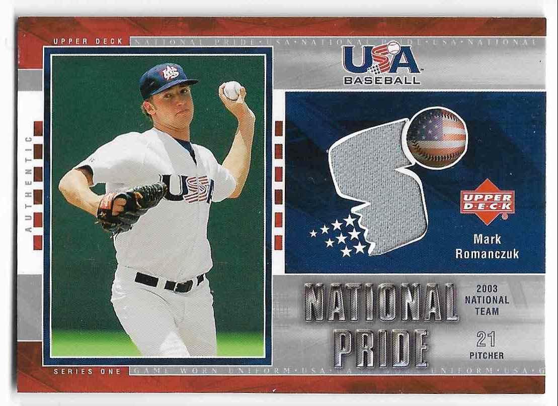 2004 Upper Deck USA Baseball Mark Romanczuk #USA9 card front image