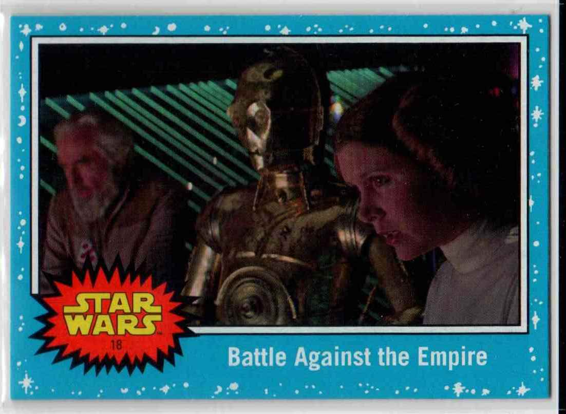 2019 Topps Star Wars Journey To Rise Of Skywalker Battle Against The Empire #18 card front image