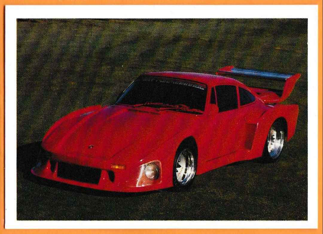1991 Vintage Sports Cars Vintage Sports Cars Porsche Turbo #38 card front image