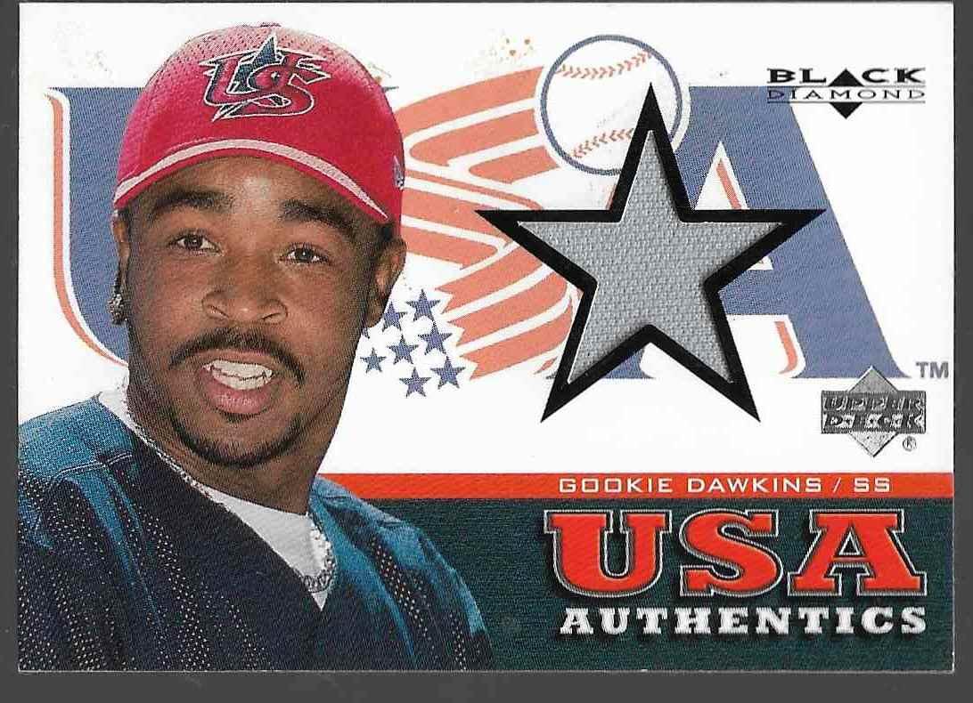2000 Upper Deck Black Diamond Gookie Dawkins #150 card front image